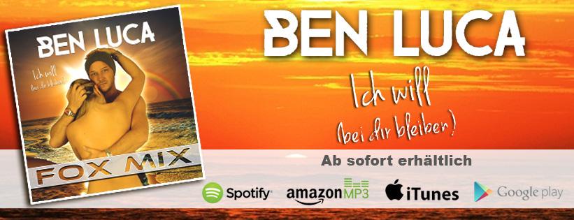 Ben Luca - Ich will (bei Dir bleiben)